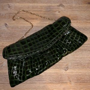 Patent Leather Evening Bag